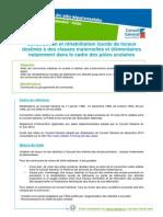 Enseignement-ConstructionRehabilitationClassesMatElementaires