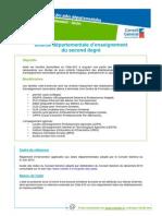 EnseignementLoisirs-BourseDepartementaleEnseignementSecondDegre