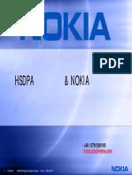 HSDPA Basics and Nokia Solution to JSMCC