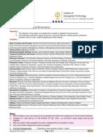 IMT-20 - Managerial Economics