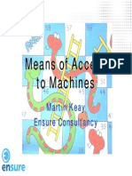 169994866 Means of Access to Machines Martin Keay Ensure PDF