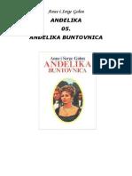 Anne i Serge Golon - Andjelika 05 Andjelika Buntovnica