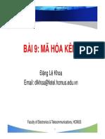 170300504 Bai 9 Ma Hoa Kenh Compatibility Mode