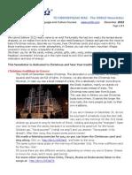 OMILO Newsletter December 2013 - Christmas in Greece