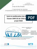 Suivi et amélioration des KPIs du cluster ZMR 2G de CASA pour le projet INWI V3