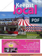 Keep It Local Magazine September 2009