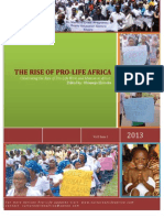 African Pro-Life Newsletter 2013