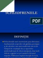 Curs 5 -Schizofrenia