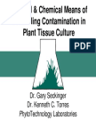 Phy Chem Control Contamination in Ptc