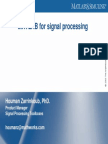 MATLAB for Signal Processing-020906