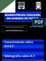 Rehabilitacion Funcional Del Esguince de Tobillo