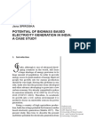 Arijit PAUL Asif RAHMAN Saptarshi PAL Jana SPIROSKA POTENTIAL OF BIOMASS BASED ELECTRICITY GENERATION IN INDIA: A CASE STUDY
