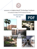 IET L Placement Brochure 2010-11