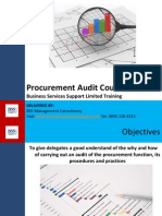 Business Procurement Audit