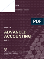 Advanced Accounting Vol.-i
