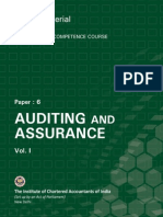 Auditing and Assurance Vol.-i
