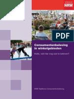 NRW_Consumentenbeleving in Winkelgebieden 2011