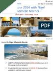 Israel tour 2014 with Nigel & Rochelle Merrick