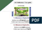 Guide d'Utilisation FR Et En