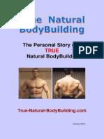 True Natural Bodybuilding eBook