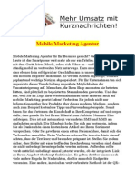 Mobile Marketing Agentur
