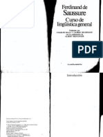Saussure, Ferdinand - Curso de Linguistica General (Planeta-Agostini 1984)