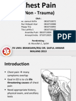 Chest Pain Non Trauma