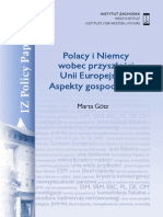 IZ PP 12.2013. Polacy i Niemcy w UE