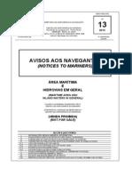 Aviso Aos NavegantesN13 - 13