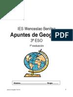 Apuntes de Geografía. 1ª evaluación