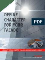 Ruukki Facade Claddings Brochure and Colour Chart