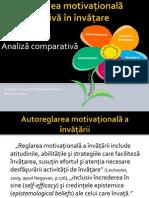 Autoreglarea motivaţională şi afectivă în învăţare
