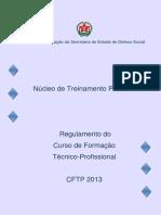 CURSO DE FORMAÇÃO SEDS