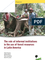 Informal Institutions and Forest Resources