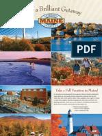 Maine Tourism Fall 2009