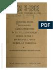 Tm 5-1202 SCRAPER LeTOURNEAU MDL SUPER C TOURNAPULL WITH MDL LP CARRYALL LeTOURNEAU, 1944