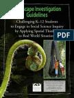 Landscape Investigation Guidelines