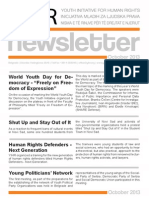 NewsLetter - YIHR - October 2013 - ENG