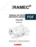 Spare Parts Filtro Larox Ceramec 121