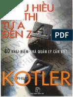 Philip Kotler - Thấu hiểu tiếp thị từ A đến Z