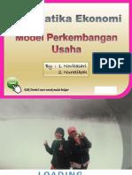 Kelompok 1 (Model Perkembangan Usaha)