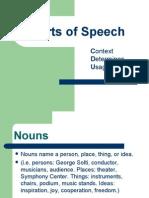 Parts of Speech 8th