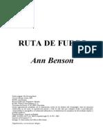Benson Ann - Ruta de Fuego