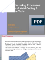 Chip Formation and Tool Life