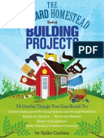 The Backyard Homestead Book of Building Projects — Sneak Peek