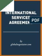 INTERNATIONAL SERVICES AGREEMENT SAMPLE