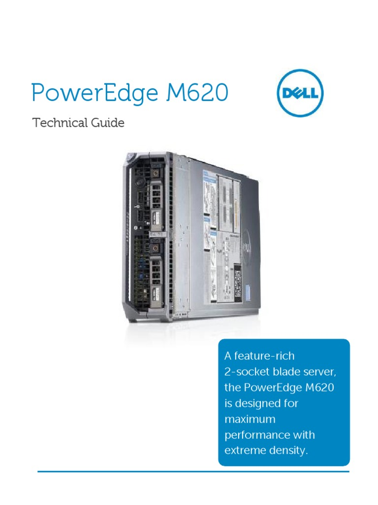 Dell Poweredge m620 Technical Guide | Solid State Drive
