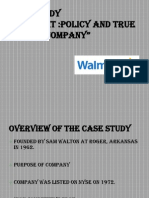 Walmart Case Study Final