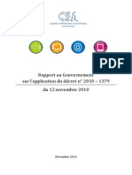 Rapport CSA - SMAD - Avec Annexes - Novembre 2013