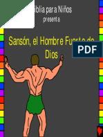 Sansón, el hombre fuerte de Dios. Historia 14
